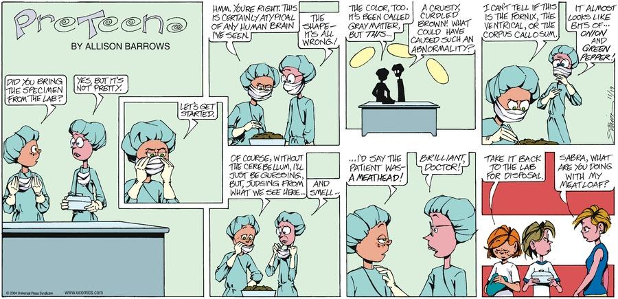 PreTeena Comic Strip for February 28, 2021
