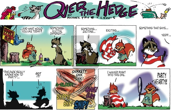 Over the Hedge on Sunday June 16, 2019 Comic Strip
