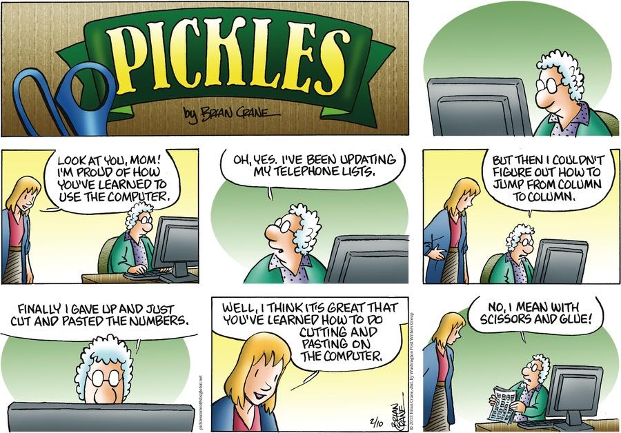 Pickles for Feb 10, 2013 Comic Strip