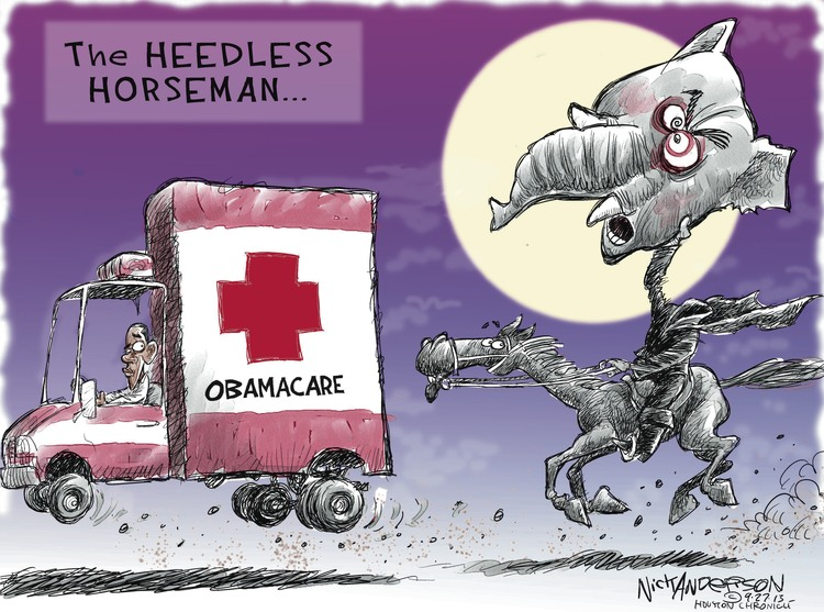 Nick Anderson for Sep 27, 2013 Comic Strip