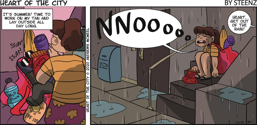 Heart of the City Comic Strip for July 26, 2020