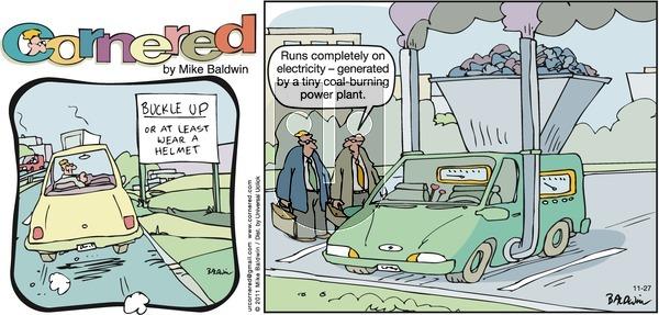 Cornered on Sunday November 27, 2011 Comic Strip