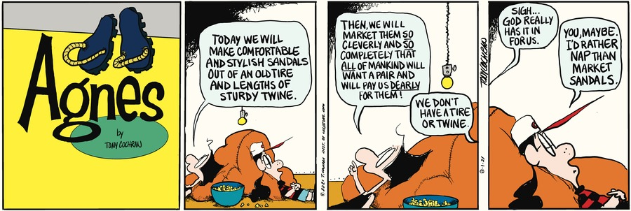 Agnes Comic Strip for August 01, 2021