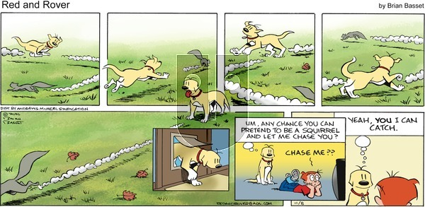 Red and Rover on Sunday November 8, 2020 Comic Strip