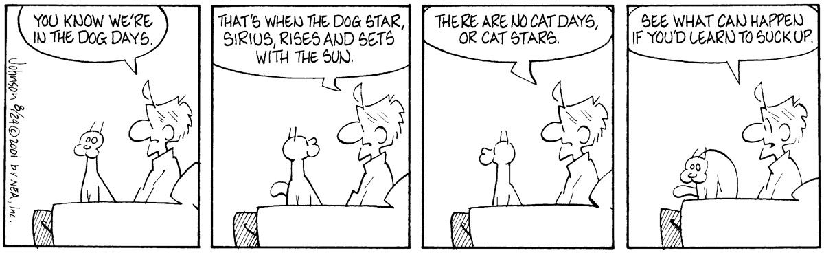 Arlo and Janis Comic Strip for August 24, 2001