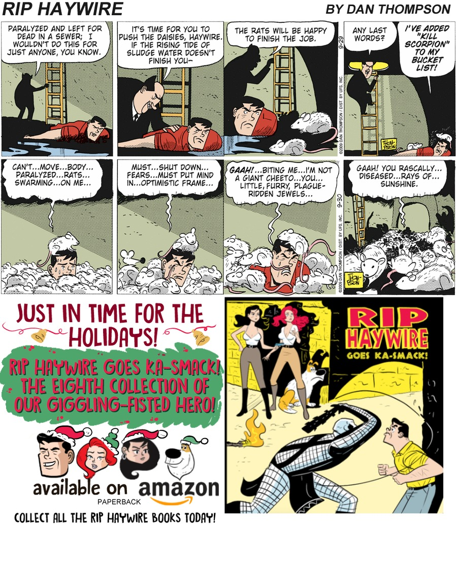 Rip Haywire Comic Strip for December 16, 2018