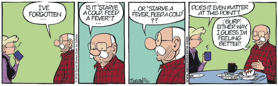 Ben Comic Strip for March 22, 2019