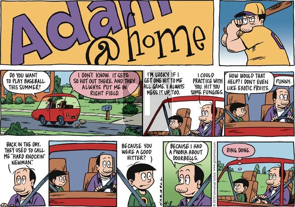 Adam@Home - Sunday April 8, 2012 Comic Strip