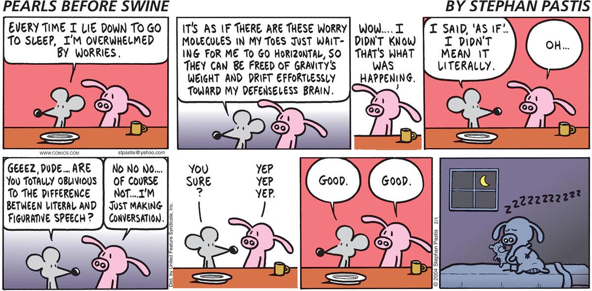 Pearls Before Swine Comic Strip for February 01, 2004