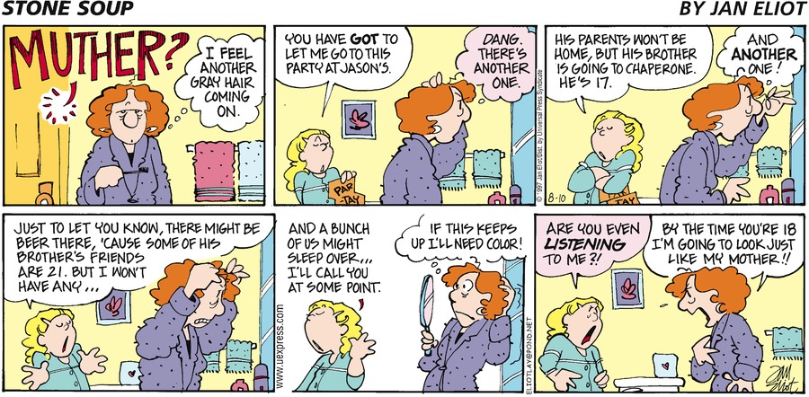 Stone Soup for Aug 10, 1997 Comic Strip