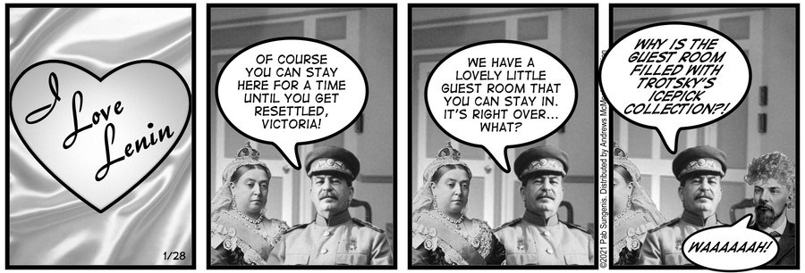 New Adventures of Queen Victoria Comic Strip for January 27, 2021