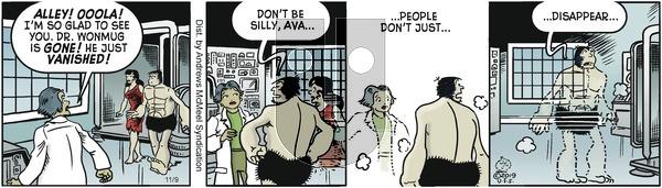 Alley Oop - Saturday November 9, 2019 Comic Strip