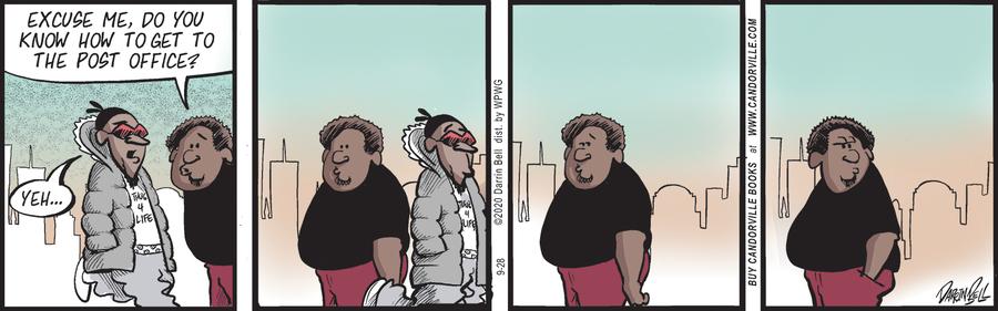 Candorville Comic Strip for September 28, 2020
