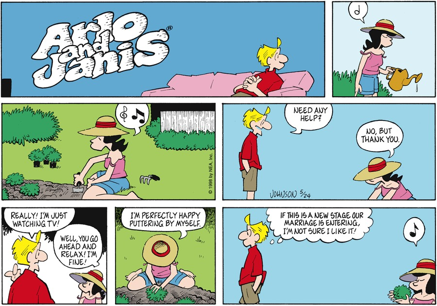 Arlo and Janis for May 24, 1998 Comic Strip