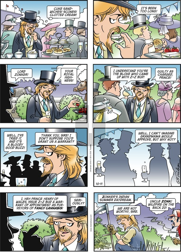 Doonesbury on Sunday October 11, 2015 Comic Strip