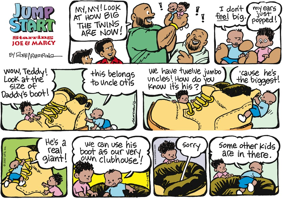 JumpStart Comic Strip for July 01, 2007