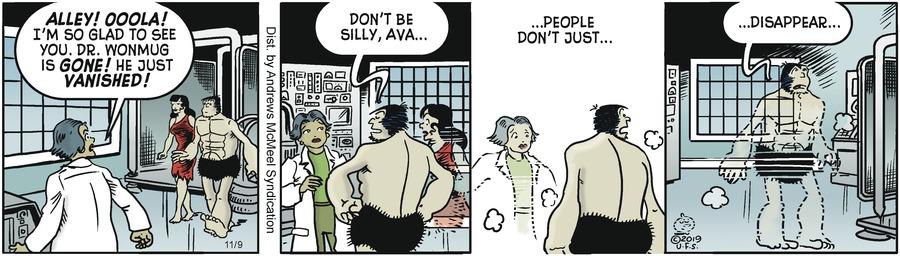 Alley Oop Comic Strip for November 09, 2019