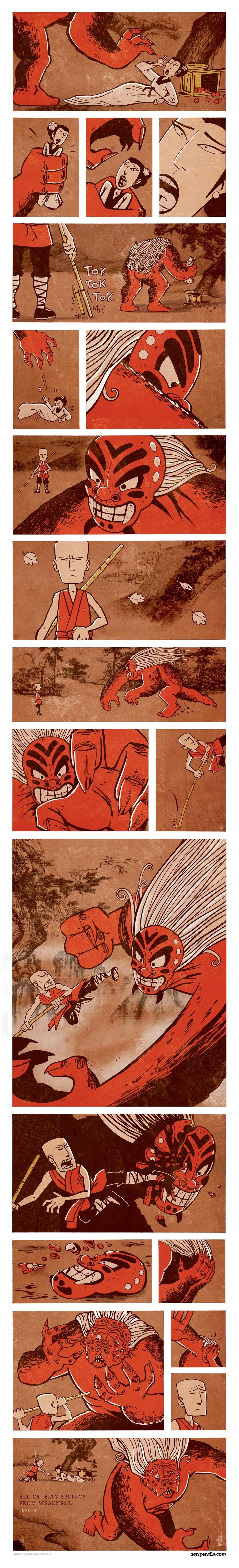 Zen Pencils Comic Strip for March 14, 2014