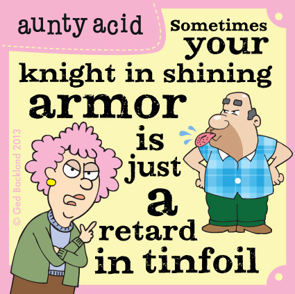 Aunty Acid for May 20, 2013 Comic Strip