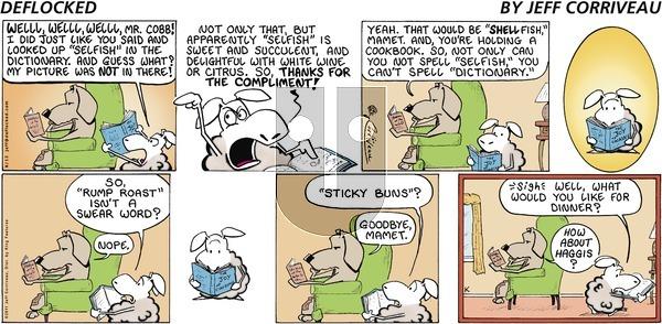 DeFlocked on Sunday June 12, 2011 Comic Strip