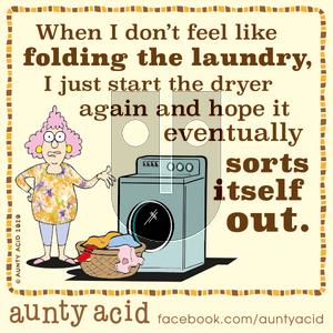 Aunty Acid on Sunday January 12, 2020 Comic Strip