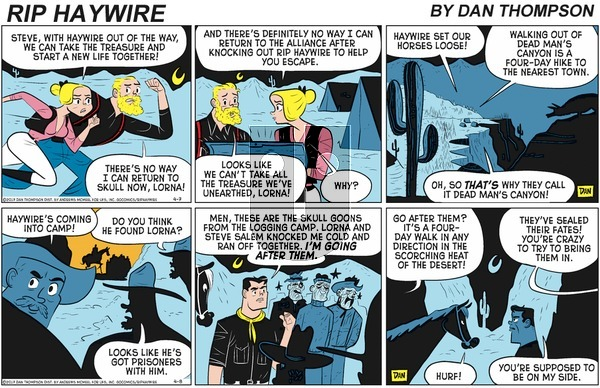 Rip Haywire on Sunday July 5, 2020 Comic Strip