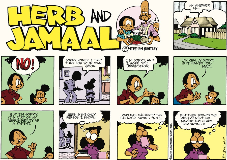 Herb and Jamaal by Stephen Bentley for March 10, 2019
