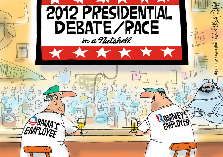 Mike Lester for Oct 3, 2012 Comic Strip