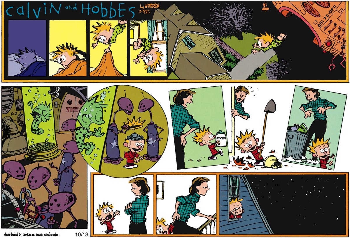 Calvin and Hobbes Comic Strip for December 09, 2012