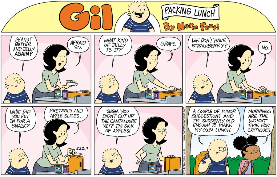 Gil Comic Strip for May 23, 2021