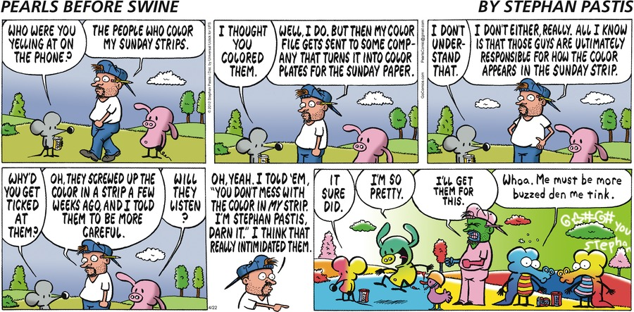 Rat:  Who were you yelling at on the phone?
