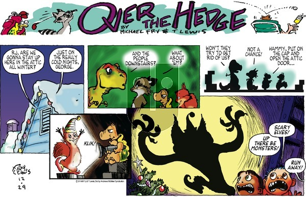 Over the Hedge on Sunday December 29, 2019 Comic Strip