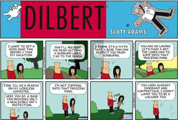 Dilbert - Sunday September 18, 2005 Comic Strip