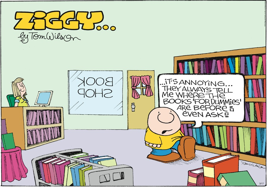 Ziggy Comic Strip for March 17, 2013