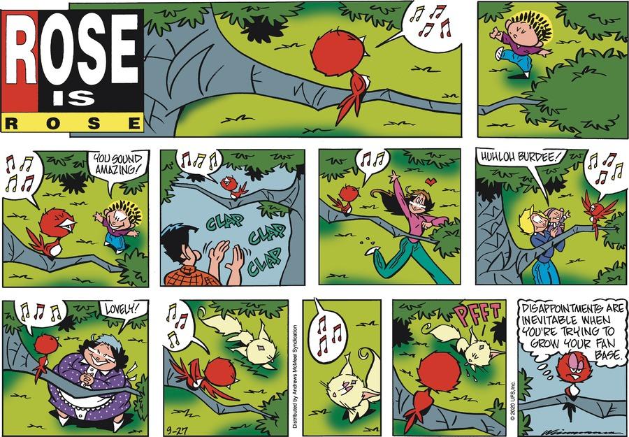 Rose is Rose Comic Strip for September 27, 2020