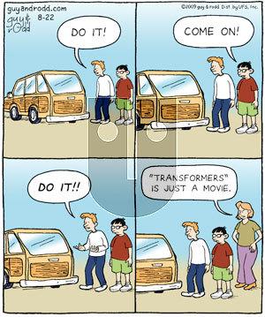 Brevity - Saturday August 22, 2009 Comic Strip