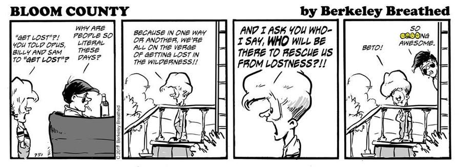 Bloom County 2018 by Berkeley Breathed for March 24, 2019