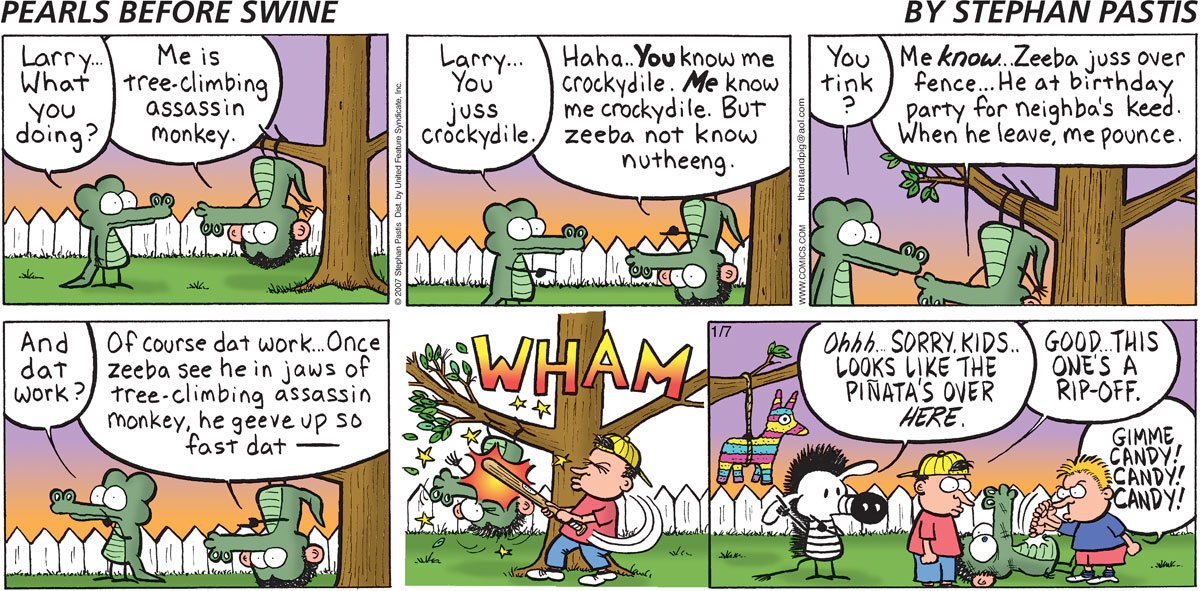 Pearls Before Swine for Jan 7, 2007 Comic Strip