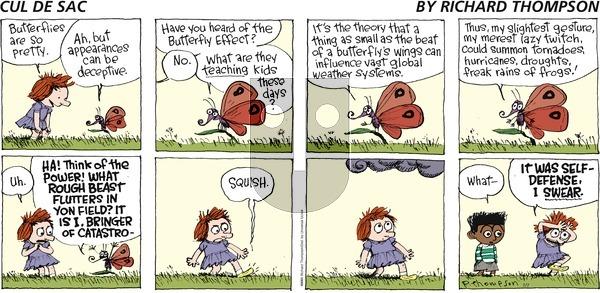 Cul de Sac on Sunday July 7, 2013 Comic Strip