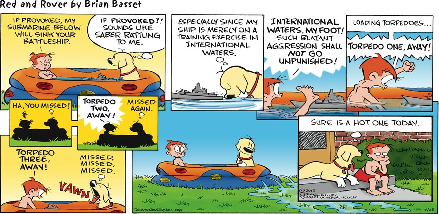 Red and Rover for Jul 28, 2013 Comic Strip