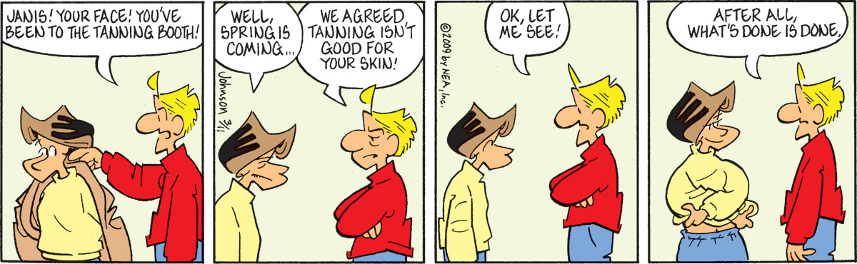 Arlo and Janis Comic Strip for March 11, 2009