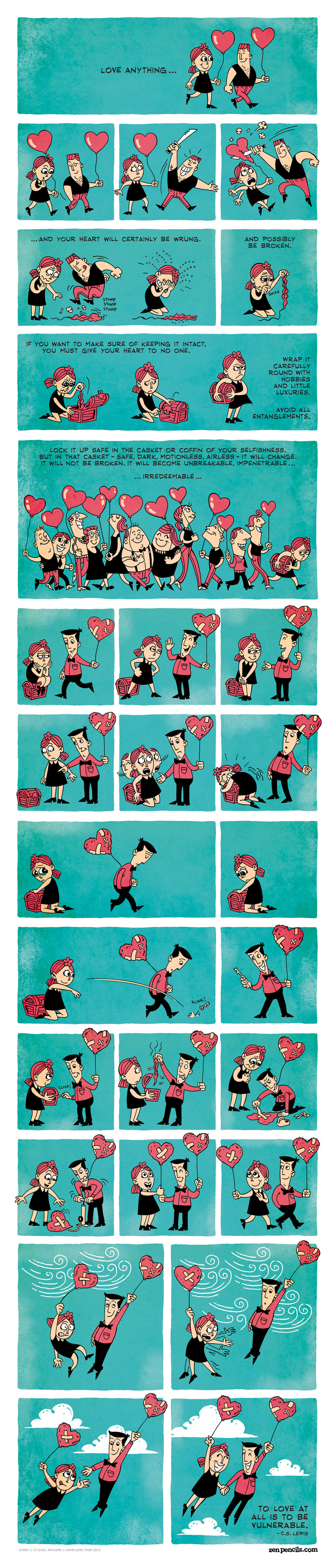 Zen Pencils Comic Strip for February 28, 2014