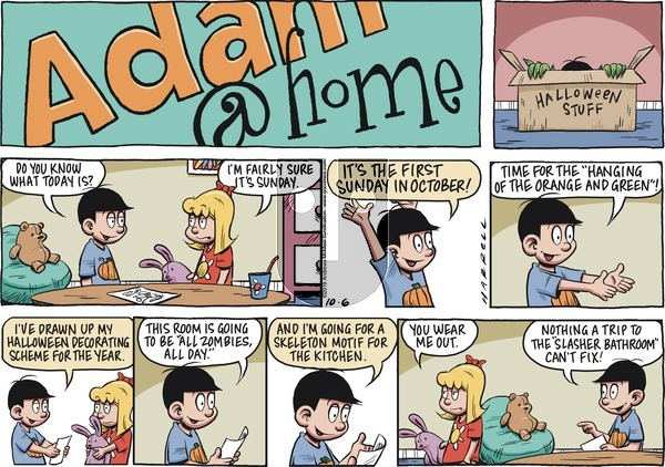 Adam@Home on Sunday October 6, 2019 Comic Strip