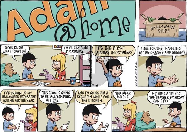 Adam@Home - Sunday October 6, 2019 Comic Strip