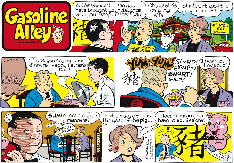 Gasoline Alley Comic Strip for June 16, 2019