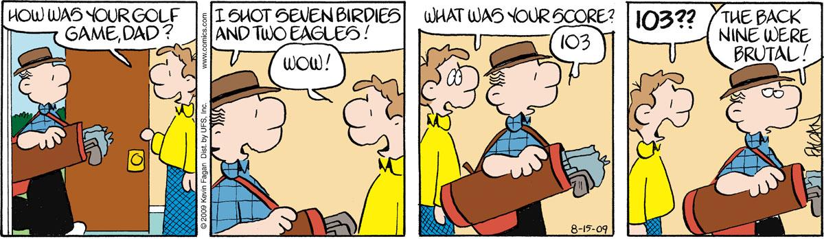 Drabble for Aug 15, 2009 Comic Strip