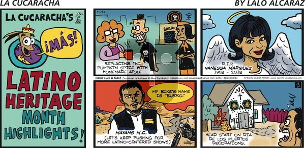La Cucaracha on Sunday October 14, 2018 Comic Strip