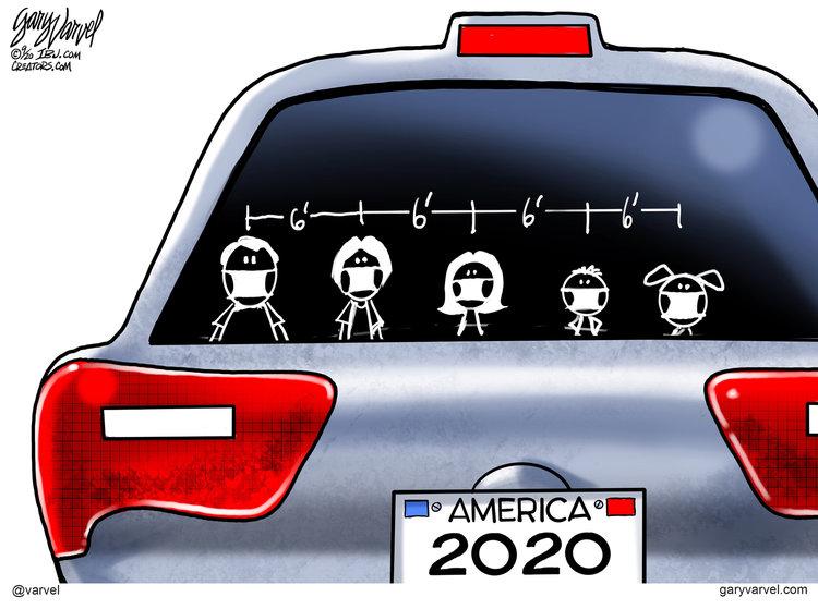Gary Varvel Comic Strip for September 25, 2020
