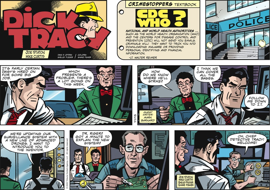 Dick Tracy by Joe Staton and Mike Curtis on Sun, 15 Nov 2020
