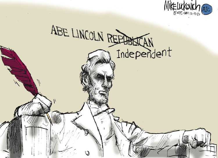 Mike Luckovich Comic Strip for December 15, 2020